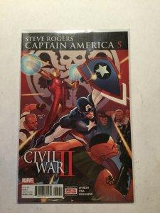 Captain America Civil War II 5 Near Mint Nm Marvel