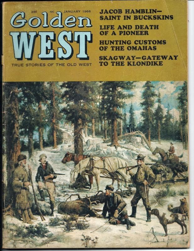 Golden West, January, 1966 (GD+)
