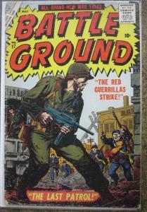 BATTLE GROUND #17 (ATLAS, 1957) GOOD