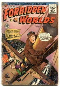 Forbidden Worlds #73 1958- 1st appearance of HERBIE G+