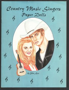 Country Music Singers Paper Dolls 1996 -Unused-4 dolls-20 outfits-Unused-Fash...