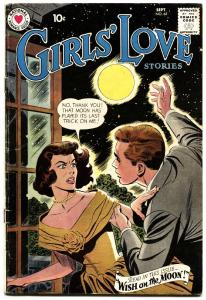 Girls' Love #65 comic book 1959 DC-Wish On The Moon-passion-heartbreak
