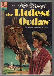 Littlest Outlaw-Four Color Comics #609 1955-Dell-Disney-VG