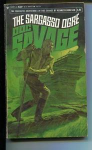 DOC SAVAGE-THE SARAGASSO OGRE-#18-ROBESON-G- JAMES BAMA COVER G