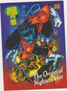 1993 Marvel Universe #144 Origin of Nightcrawler