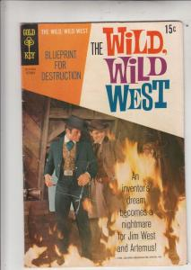 Wild Wild West, The #7 (Oct-69) VG Affordable-Grade Jim West, Artimus Gordon
