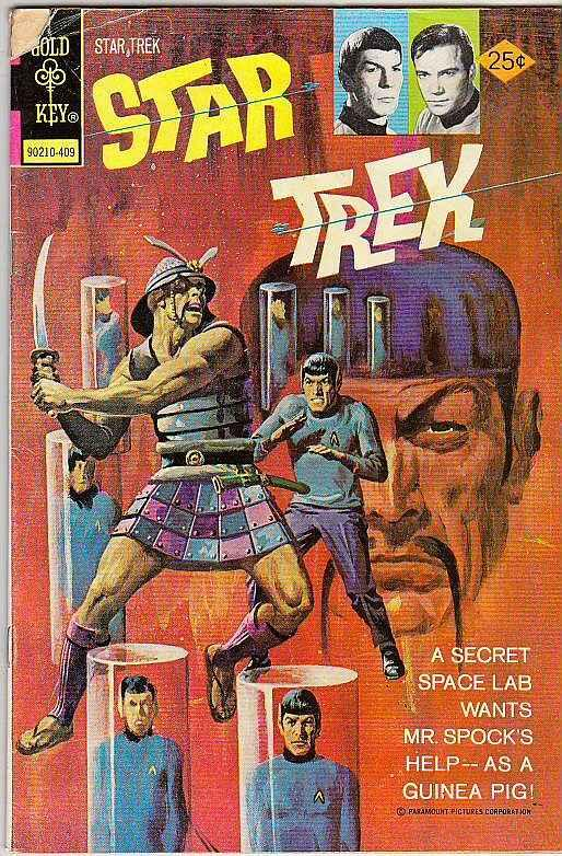 Star Trek #26 (Sep-74) VG Affordable-Grade Captain Kirk, Mr Spock, Bones, Scotty