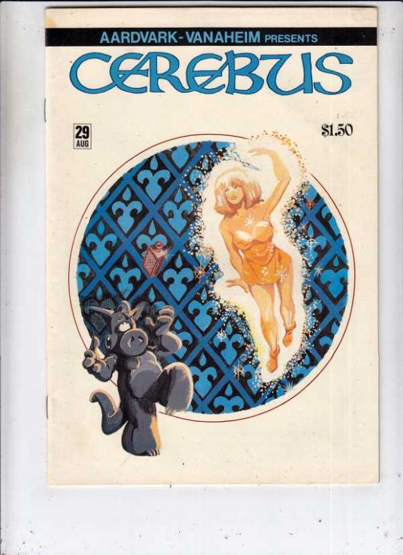 Cerebus #29 (Aug-81) VF/NM+ High-Grade Cerebus the Aardvark
