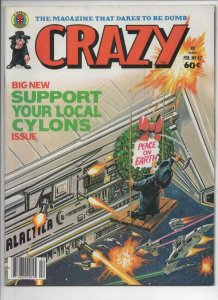 CRAZY #47 Magazine, VF, BattleStar Galactica, 1973 1979, more in store