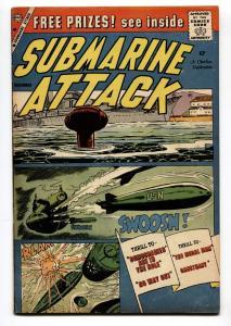 SUBMARINE ATTACK #19 1959-CHARLTON WAR COMICS FN+