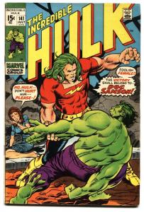 INCREDIBLE HULK #141 1st  DOC SAMSON BRONZE AGE MARVEL vg+