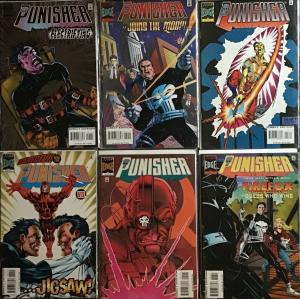 PUNISHER (3RD SERIES 1996) MARVEL #1-6 SEE DESCRIPTION ALL NM CONDITION