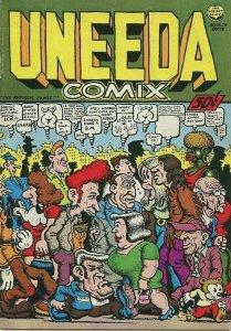 UNEEDA COMIX / August 1970 / Print Mint / 1st Printing / Robert Crumb
