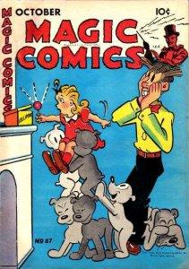 Magic Comics #87, VG+ (Stock photo)