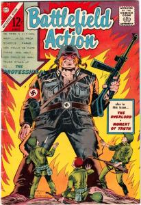 Battlefield Action #59 (Aug-65)  Mid-High-Grade