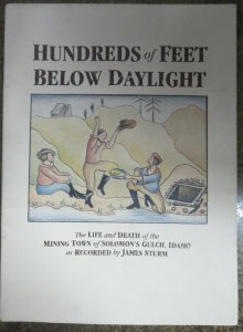 HUNDREDS OF FEET BELOW DAYLIGHT by James Strum #3, Drawn & Quarterly VF