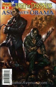 Army of Darkness: Ash Saves Obama #4B VF/NM; Dynamite | save on shipping - detai