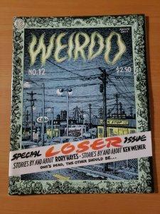 Weirdo #12 ~ VERY FINE - NEAR MINT NM ~ 1985 Last Gasp Underground R Crumb