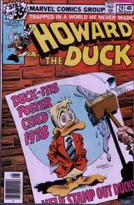 Howard the Duck #29 - 1st Series - 9.0 or Better