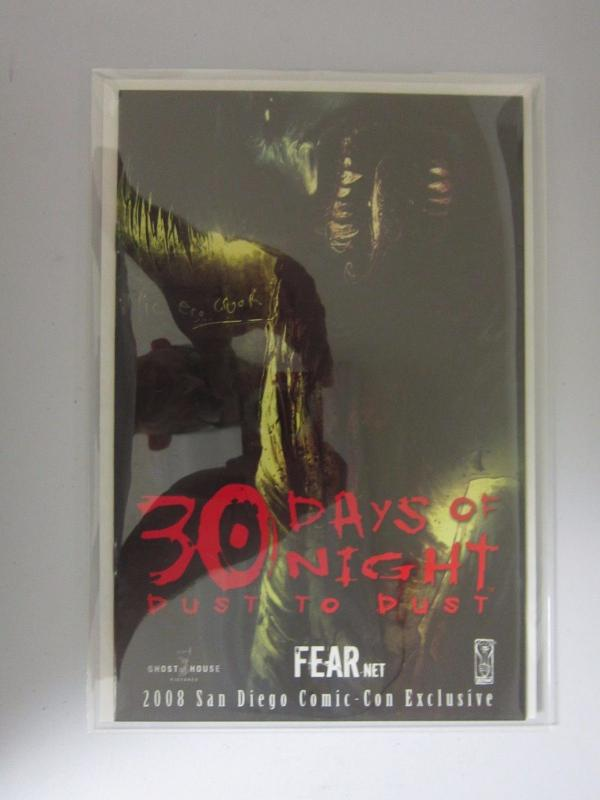 30 Days of Night Dust to Dust San Diego Comic Con (2008) #0 - VF - 2008