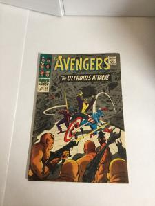 Avengers 36 Vg+ Very Good+ 4.5 Marvel Comics Silver Age