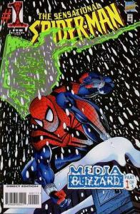 Sensational Spider-Man (1996 series) #1, VF+ (Stock photo)