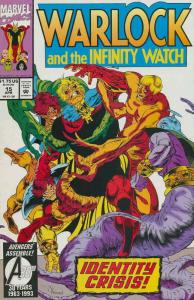Warlock and the Infinity Watch #15 VF/NM; Marvel | save on shipping - details in