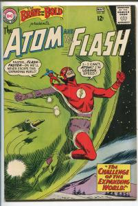 BRAVE AND THE BOLD  #53 1964-DC-ALEX TOTH-ATOM-THE FLASH-vg