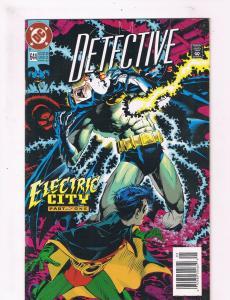 Detective Comics #644 VF 1st Print DC Comic Book Feat. Batman Robin Joker DE2