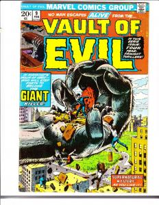 Vault of Evil #9 (Feb-74) VF/NM+ High-Grade