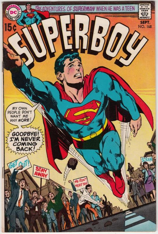 Superboy #168 (Sep-70) VF/NM High-Grade Superboy