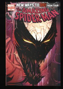 Amazing Spider-Man #571 VF 8.0 Anti-Venom Variant Cover!