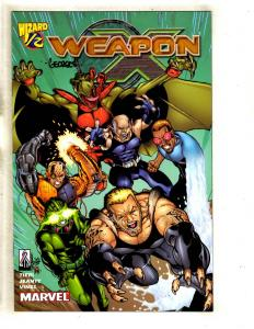 Weapon X # 1/2 NM Marvel Comic Book SIGNED By Georges Jeanty X-Men W/COA J339