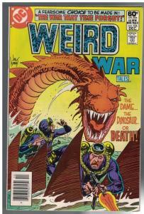 WEIRD WAR TALES (1972) 106 FN+ Dec. 1981