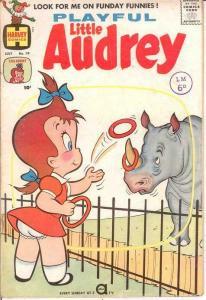 PLAYFUL LITTLE AUDREY (1957-1976) 19 VG-F July 1960 COMICS BOOK