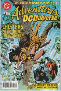 2 Adventures in the DC Universe Comic Books #3 4 Wonder Woman Green Lantern BH47