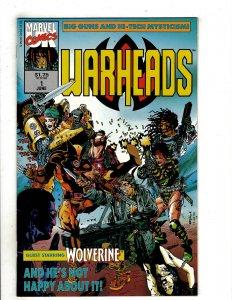 Warheads (UK) #1 (1992) YY5