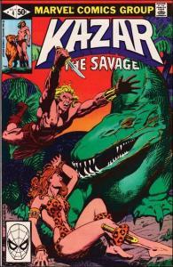 Marvel KA-ZAR THE SAVAGE #4 VF