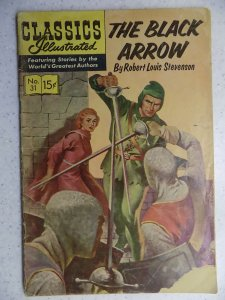 Classics Illustrated #31 (1946) HRN 167