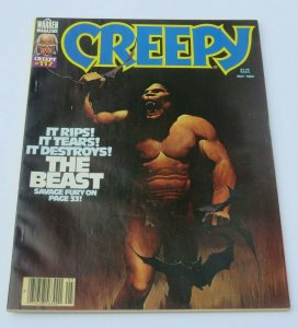 Creepy #117 FN/VF 1980 Warren Horror Magazine Weird Strange Crazy The Beast