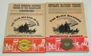 the Black Diamond Detective Agency SC VF/NM original graphic novel + FCBD
