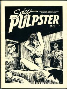Pulpster #5 1995-Pulpcon 24 program-Hugh B Cave-Green Lama-Kinstler-Avallone-VF