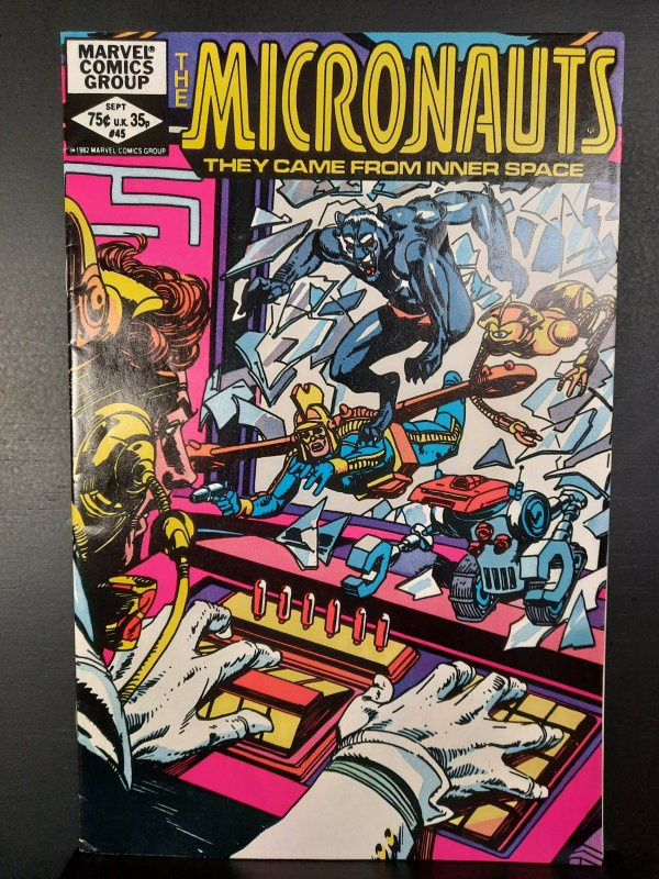 Micronauts #45 (1982)