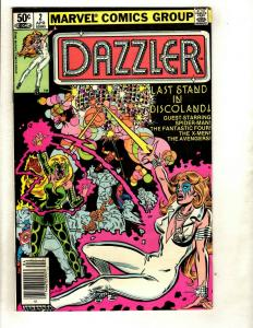 Lot of 12 Dazzler Marvel Comics # 2 4 6 8 9 10 11 12 13 14 15 16 WS6