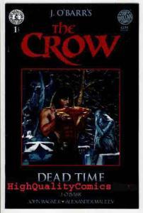 CROW ; DEAD TIME 1, VF, James O'Barr, Kitchen Sink Press, 1996