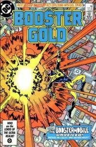 Booster Gold (1986 series) #5, VF+ (Stock photo)