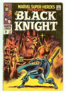 Marvel Super-Heroes 17   Origin Black Knight