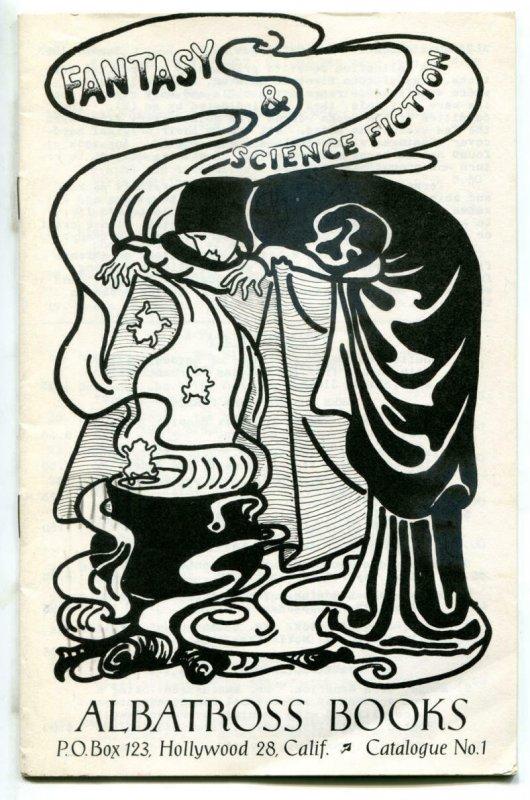 FANTASY and SCIENCE FICTION ALBATROSS BOOKS Catalogue #1, VF, rare, 1963
