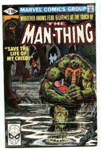 Man-Thing v.2  #9 1980 Marvel comic book NM-