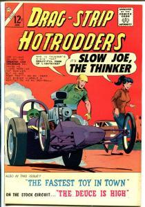 Drag-Strip Hotrodders #4 1965-Charlton-1957 Chevy race car-VF-